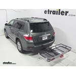 Rola Dart Folding Hitch Cargo Carrier Review - 2013 Toyota Highlander