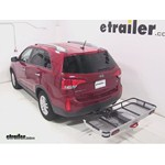 Rola Dart Folding Hitch Cargo Carrier Review - 2014 Kia Sorento
