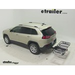 Rola Dart Folding Hitch Cargo Carrier Review - 2014 Jeep Cherokee