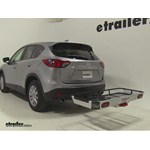 Rola Dart Folding Hitch Cargo Carrier Review - 2015 Mazda CX-5