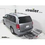 Rola Dart Folding Hitch Cargo Carrier Review - 2013 Dodge Grand Caravan