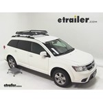Rola Roof Cargo Basket Installation - 2011 Dodge Journey