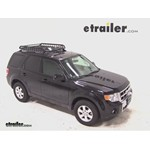 Rola Roof Cargo Basket Installation - 2011 Ford Escape