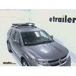 Rola Roof Cargo Basket Installation - 2012 Dodge Journey