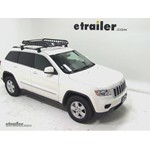 Rola Roof Cargo Basket Installation - 2012 Jeep Grand Cherokee
