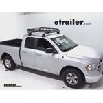 Rola Roof Cargo Basket Installation - 2013 Dodge Ram Pickup