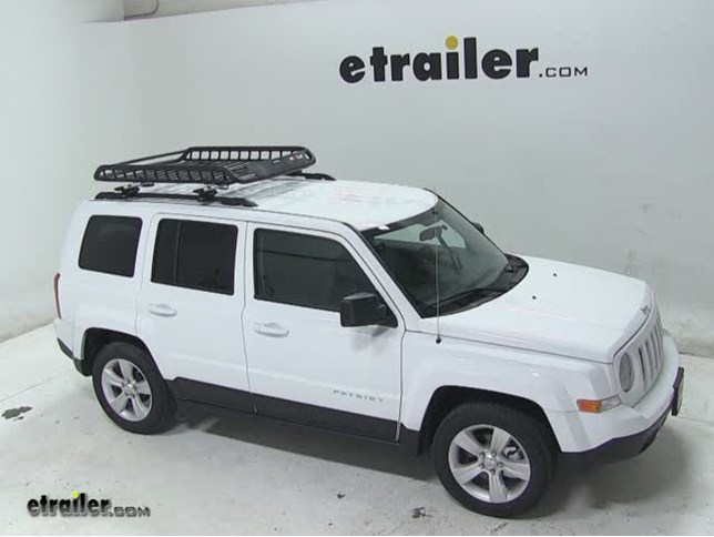 Rola Roof Cargo Basket Installation   2013 Jeep Patriot