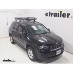 Rola Roof Cargo Basket Installation - 2014 Jeep Compass