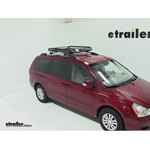 Rola Roof Cargo Basket with RailGrab Bars Installation - 2012 Kia Sedona