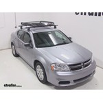 Rola Roof Cargo Basket Installation - 2014 Dodge Avenger