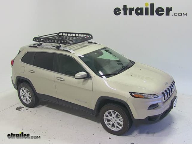 Rola Roof Cargo Basket Installation   2014 Jeep Cherokee