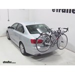 Saris Bones Trunk Mount 3 Bike Rack Review - 2013 Volkswagen Jetta