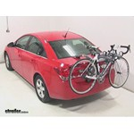 Saris Bones Trunk Mount 3 Bike Rack Review - 2014 Chevrolet Cruze