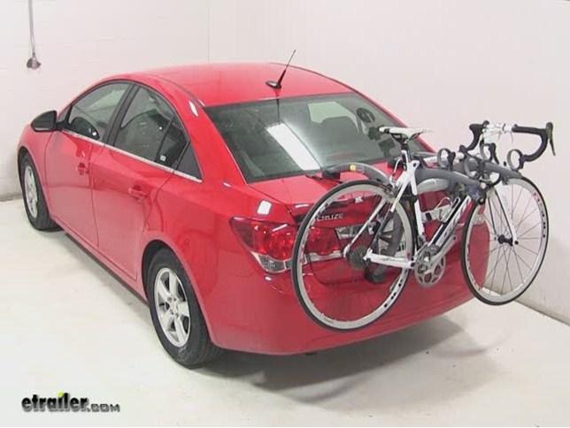 Saris Bones Trunk Mount 3 Bike Rack Review 2014 Chevrolet Cruze