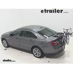 Saris Bones Trunk Mount 3 Bike Rack Review - 2014 Ford Taurus