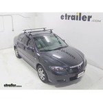 SportRack Semi-Custom Roof Rack Installation - 2009 Mazda 3