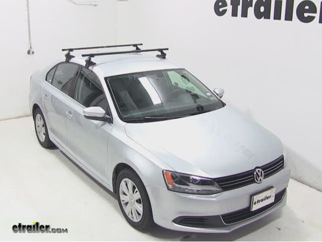 SportRack Semi Custom Roof Rack Review  2013 Volkswagen Jetta