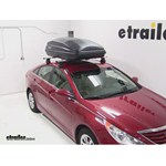 SportRack Vista Roof Cargo Box Review - 2013 Hyundai Sonata