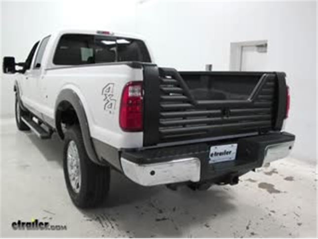 Stromberg Carlson Tailgate Installation 2016 Ford F 350 Video Etrailer