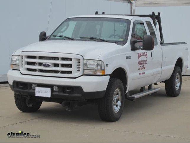 Superwinch Electric Winch Wiring Kit Installation - 2004 Ford F-250 ...