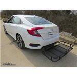 Surco Products Hitch Cargo Carrier Review - 2017 Honda Civic