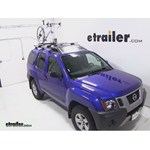 Swagman Fork Down Roof Bike Rack Review - 2013 Nissan Xterra