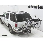 Swagman Titan Hitch Bike Rack Review - 1999 Chevrolet Blazer