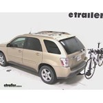 Swagman Titan Hitch Bike Rack Review - 2005 Chevrolet Equinox