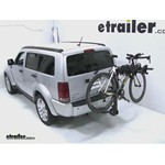 Swagman Titan Hitch Bike Rack Review - 2008 Dodge Nitro