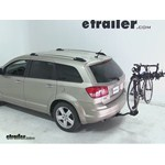 Swagman Titan Hitch Bike Rack Review - 2009 Dodge Journey