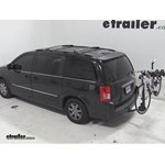 Swagman Titan Hitch Bike Rack Review - 2011 Chrysler Town and Country