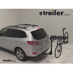 Swagman Titan Hitch Bike Rack Review - 2011 Hyundai Santa Fe