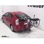 Swagman Titan Hitch Bike Rack Review - 2011 Toyota Prius