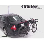 Swagman Titan Hitch Bike Rack Review - 2012 Ford Fusion
