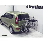 Swagman Titan Hitch Bike Rack Review - 2012 Kia Soul