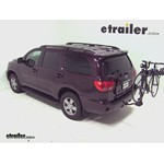 Swagman Titan Hitch Bike Rack Review - 2012 Toyota Sequoia