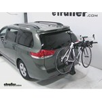 Swagman Titan Hitch Bike Rack Review - 2012 Toyota Sienna