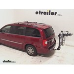 Swagman Titan Hitch Bike Rack Review - 2013 Chrysler Town and Country