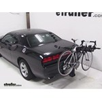 Swagman Titan Hitch Bike Rack Review - 2013 Dodge Challenger
