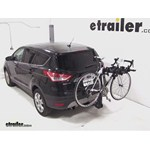 Swagman Titan Hitch Bike Rack Review - 2013 Ford Escape
