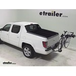 Swagman Titan Hitch Bike Rack Review - 2013 Honda Ridgeline