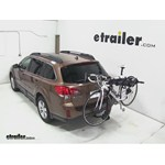 Swagman Titan Hitch Bike Rack Review - 2013 Subaru Outback Wagon