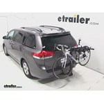 Swagman Titan Hitch Bike Rack Review - 2013 Toyota Sienna