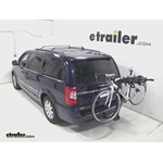 Swagman Titan Hitch Bike Rack Review - 2014 Chrysler Town and Country