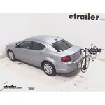 Swagman Titan Hitch Bike Rack Review - 2014 Dodge Avenger