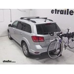 Swagman Titan Hitch Bike Rack Review - 2014 Dodge Journey