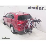 Swagman Titan Hitch Bike Rack Review - 2014 Kia Sorento - Video