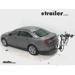 Swagman Titan Hitch Bike Rack Review - 2014 Ford Taurus