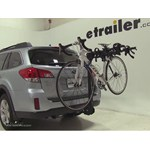 Swagman Titan Hitch Bike Rack Review - 2014 Subaru Outback Wagon