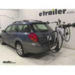 Swagman Titan Hitch Bike Rack Review - 2006 Subaru Outback Wagon
